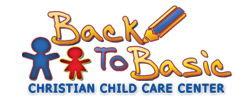 Back To Basic | Best Daycare Center In Pearland, Texas Sticky Logo