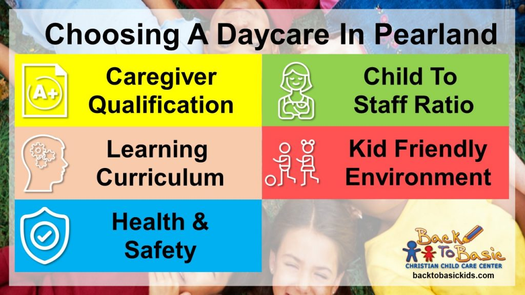 Top 5 Things To Look For When Choosing A Daycare In Pearland