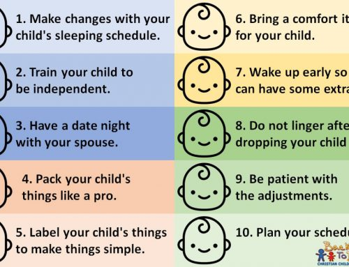 First Day in Daycare: 10 Tips on Preparing your Child
