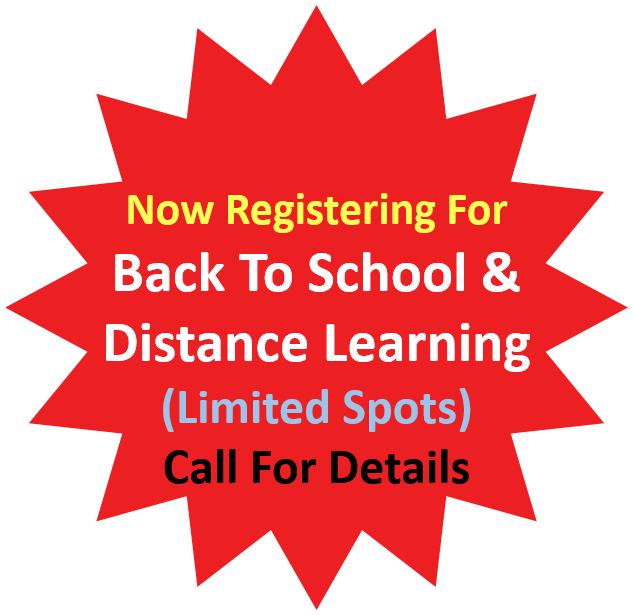Back To School Distance Learning Pearland 2020 Call Now